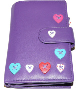 Mala Leather medium TAB Purse Lucy Colection 3188 / 30 with RFID protection (3 COLOURS!)