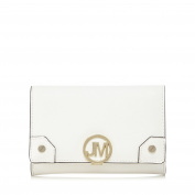 Star By Julien Macdonald Womens White Logo Plate Purse