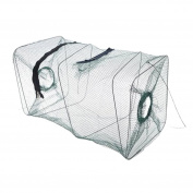 Iuhan New Folding Fish Minnow Crab Fishing Bait Shrimp Trap Cast Net Cage