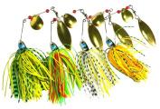RoseSummer 1Pcs Buzzbait Lure Plug Spinner Pike Bass Perch Fishing