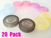 Magik Colourful Contact Lens Box Holder Container Case Soak Storage Eyecare Kit Gyl564