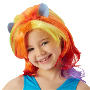 Rubie's Official My Little Pony Rainbow Dash Wig Child's Fancy Dress Accessory