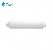 Tier1 1cm Quick Connect Coconut Carbon Inline Water Filter