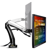 StandMounts Full Motion Desk Mount for Computer Monitors 43cm - 70cm LED LCD Flat Panel TVs from 2kg up to 2kg with Gas Spring F100