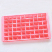 Qearly Creative DIY Ice Tray Ice box Ice Cubes Tray Chocolate Mould-Pink