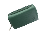 Mala ORIGIN Collection Leather Purse With Coin Tray And RFID Protection 3317_5 Green