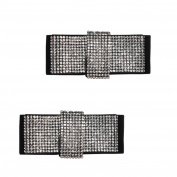 Froufrouz - Shoe Clips Women Shoe Accessories Shoe Jewellery Alize - Sold In Pairs - For Casual, Evening And Bridal Shoes