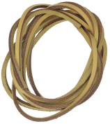Leather Shoe Laces - Natural