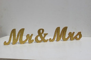 Mr & Mrs Wood Letter Sign Sweetheart Table Sign Perfect For Engagement Party