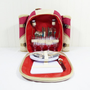 4 Person Picnic Backpack by Fine Gifts - Gift idea for Valentines