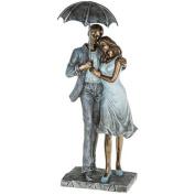 Rainy Day Romance Loving Figures