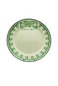 Vintage Dessert Plate Circle Poultry