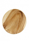Plate 25 cm Acacia Wood