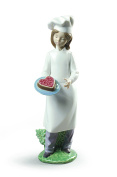 MY DELICIOUS CAKE Ornament Nao Porcelain By Lladro 2001888