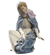 VIRGIN MARY Ornament Nao Porcelain By Lladro 2012019