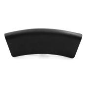 uxcell Black Neck Back Support Bathtub Tub Bath Spa Pillow Cushion w/ 2 Suction Cups 36cm x 13cm