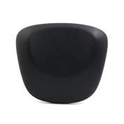 uxcell Dark Grey Waterproof Spa Bath Pillow Cushion Support Head Neck w/ Suction Cups 25cm x 23cm