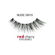 Red Cherry False Eyelashes Nude Onyx