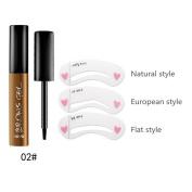 Shouhengda Makeup Peel-off Eyebrow Gel Tattoo Waterproof Long Lasting Eyebrow Colour Beauty