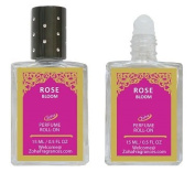 Rose Perfume Oil - Rose Bloom Roll-On by Zoha Fragrances