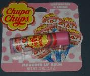 Chupa Chups Flavoured Lip Balm - Strawberry & Cream