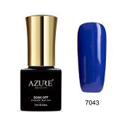 Azure Beauty Gel Nail Polish Soak Off UV/LED Shiny Shellac Nail Polish colourful #7043