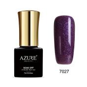 Azure Beauty Gel Nail Polish Soak Off UV/LED Shiny Shellac Nail Polish colourful #7027