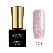 Azure Beauty Gel Nail Polish Soak Off UV/LED Shiny Shellac Nail Polish colourful #7038