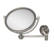 Allied Brass WM-6/2X-SN 20cm Wall Mirror with 2x Magnification Extends 36cm , Satin Nickel