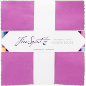 Freespirit Fabrics FB610DS.MODRN Modern Solids Denyse Schmidt Charm Pack, 25cm x 25cm