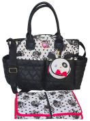 Betsey Johnson 3pc Downtown Nappy Bag Baby Shoulder Handbag