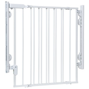 Safety 1st Ready To Instal Everywhere Gate, White