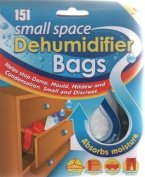 6 Small Space Dehumidifier Bags/2 Packs of 3