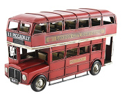 Leonardo Collection Double Decker Bus, Red