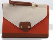 orange and Cream ladies handbag