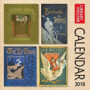 British Library - Bookcovers Wall Calendar 2018