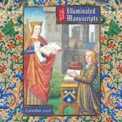 British Library - Illuminated Manuscripts Wall Calendar 2018