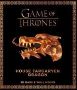 Game of Thrones Mask and Wall Mount - House Targaryen Dragon