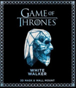 Game of Thrones Mask and Wall Mount - White Walker