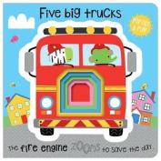 Five Little Trucks [Board book]