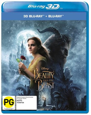Beauty and the Beast 2017 Blu-ray 3D