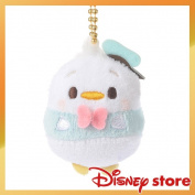 Donald with the Disney ufufy key ring key chain stuffed toy