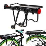Back Rear Rack Alloy Bike Bicycle Seat Post Frame Carrier Holder Cargo Racks Usa
