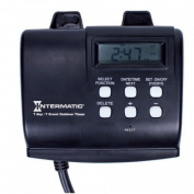 Intermatic Hb880r 15amp Seven Day Outdoor Digital Timer, New,  .