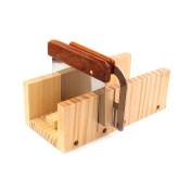 Peicees Adjustable Wooden Soap Mould Handmade Loaf Cutter Mould With 2pcs Wavy ...