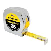 Stanley 33-425 Powerlock 7.6m By 2.5cm Measuring Tape - Original