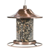 Perky-pet Copper Panorama Bird Feeder 312c 8l X 8w Ins. New