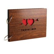 Diy Photo Album Forever Love Anniversary Scrapbook Hollow Out 20cm X 15cm