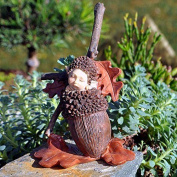 Miniature Fairy Garden Acorn Baby, New,  .