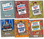 Where's Wally Books 6 Spectacular Large Picture Books Set-where's. Wally,where's